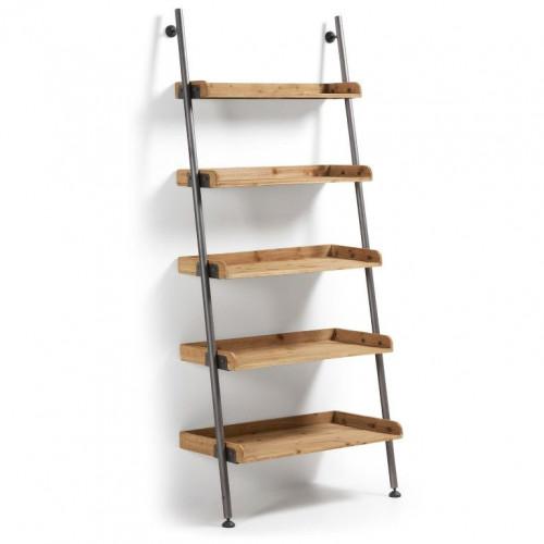 Bookcase Ladder | 5 Shelves
