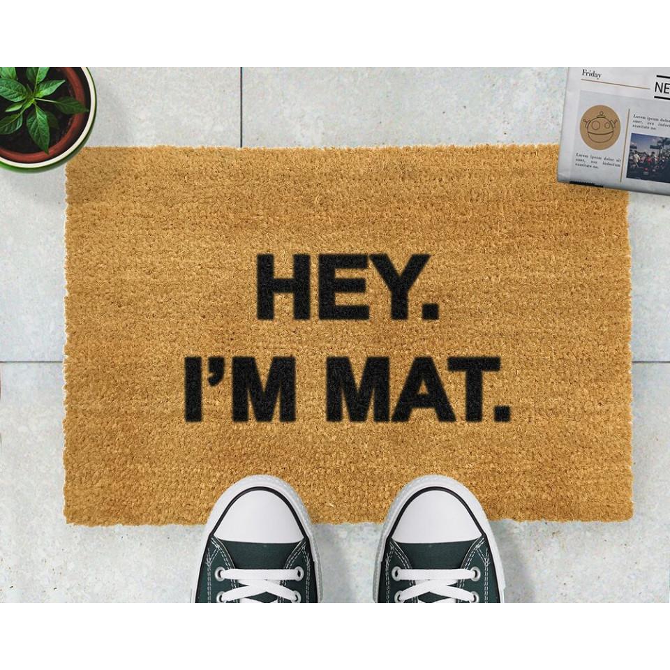 Fußmatte I'm Mat