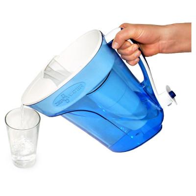 12-Tassen-Fertiggießkrug 2,8 l | Blau