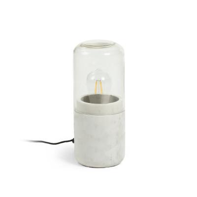 Tischlampe Blomst | Weiß