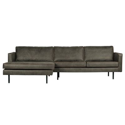 Chaise Longue Left Rodeo   Army Green