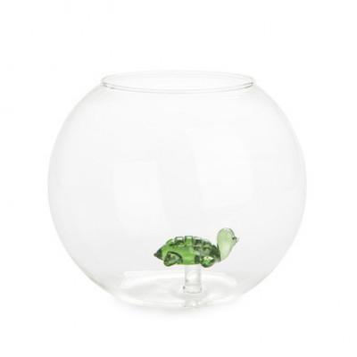Vase Atlantis-Schildkröte | Rund