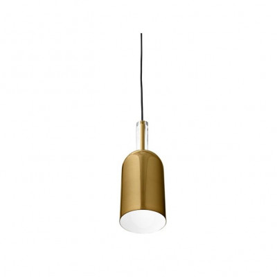 Cylinder Pendant Lamp Luceo | Gold