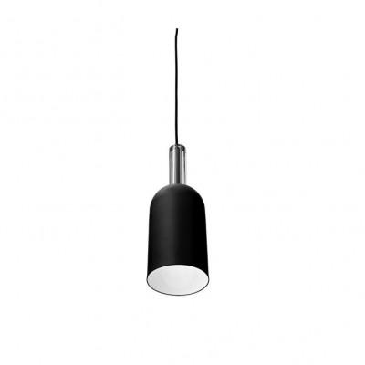 Cylinder Pendant Lamp Luceo | Black