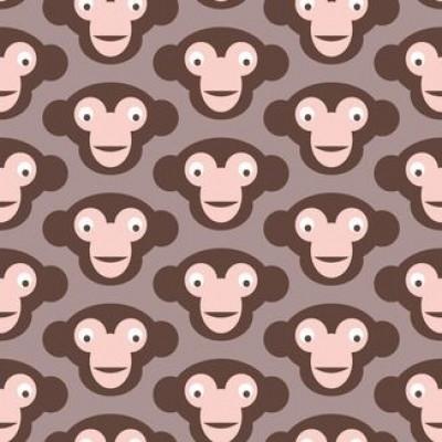 Affe Kinder Tapete