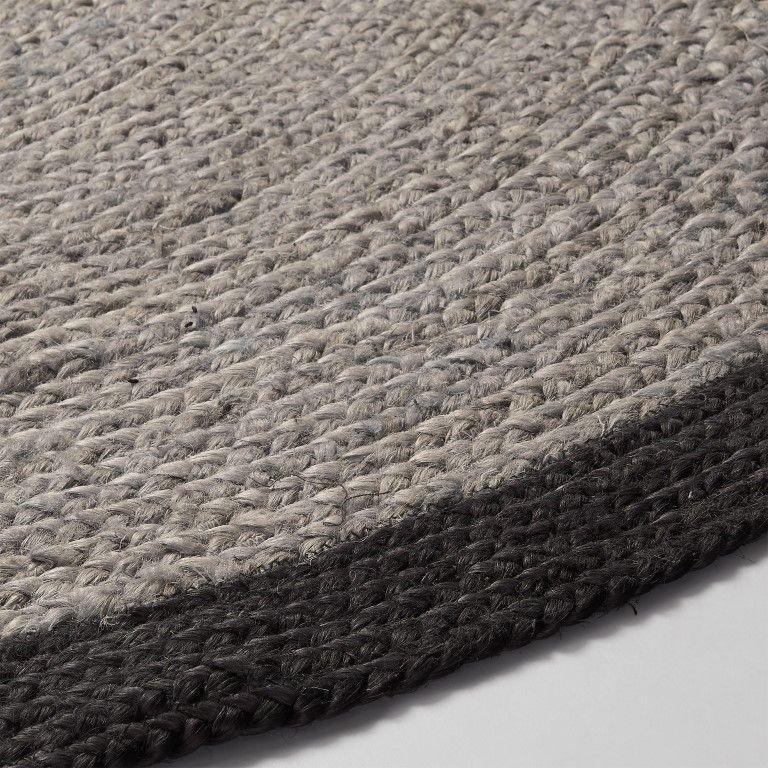 Teppich Matti | Schwarz & Grau