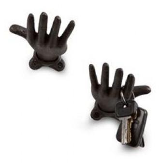 Kapstok Hanging Hand | Zwart