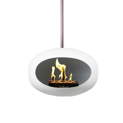 Bio Fireplace White Sky 140 cm | White