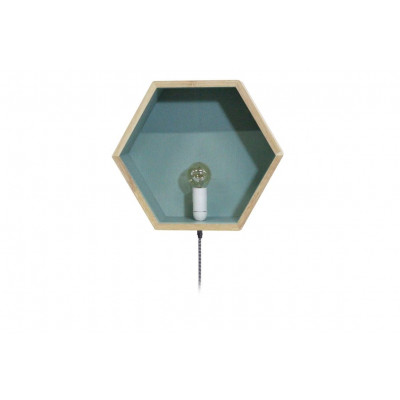 Wall Box With Light | Blue