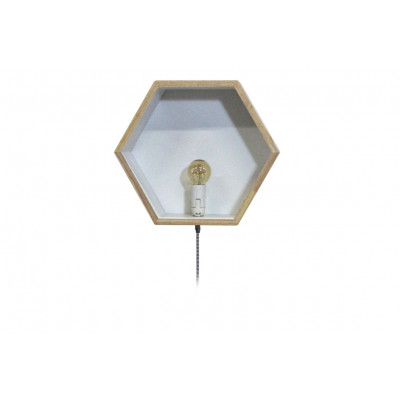 Wall Box With Light | White