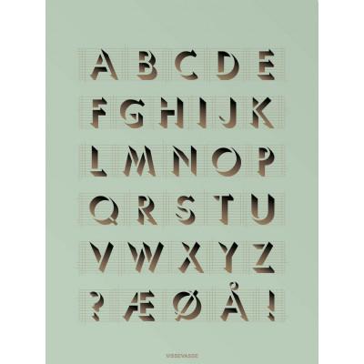 ABC-Poster   Postfrisch