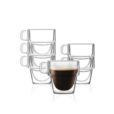 6er-Set Doppelwandglas 150 ml Senso