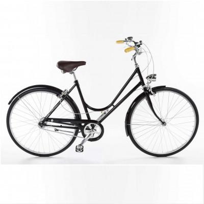 Bike Bacio 3 Speed Donna | Shiny Black