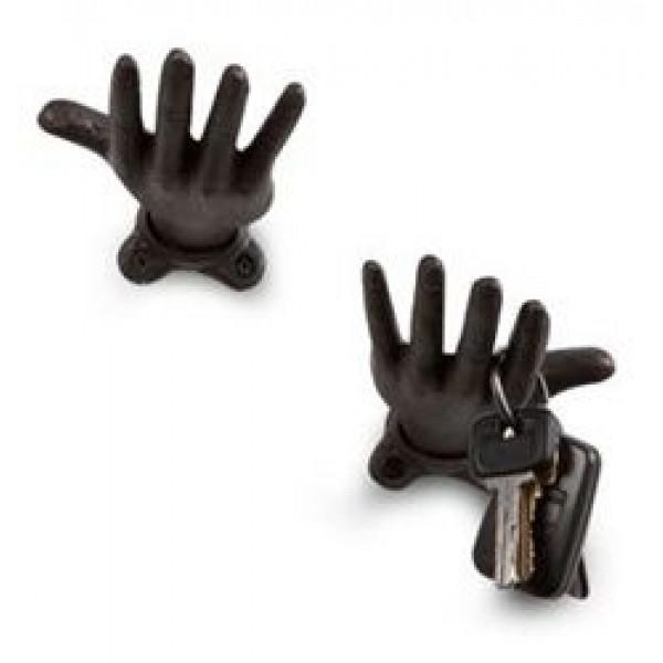 Kapstok Hanging Hand | Rood