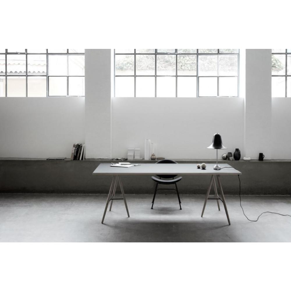 Acura Solid Chair | Leer Schwarz & Eiche