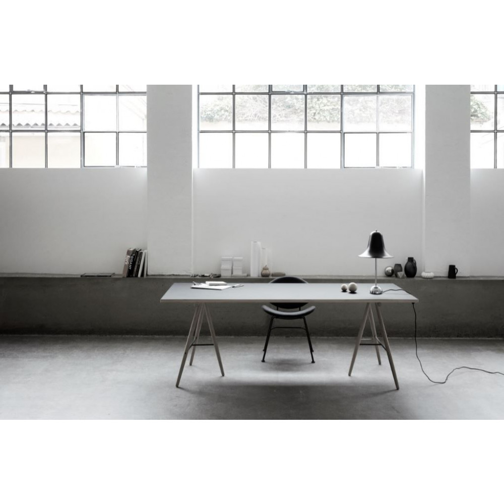 Acura Solid Chair   Staub Grau & Holz