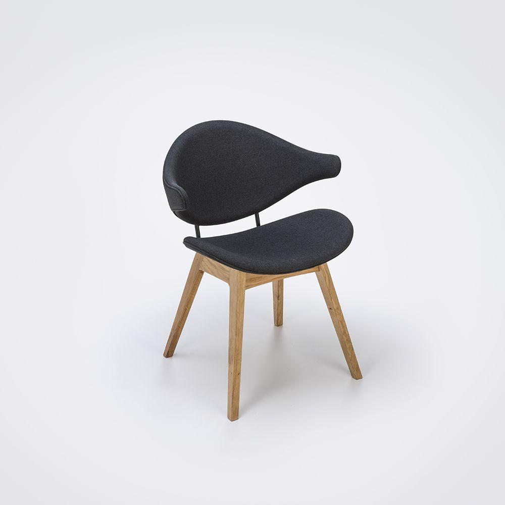 Acura Solid Chair | Staub Grau & Eiche