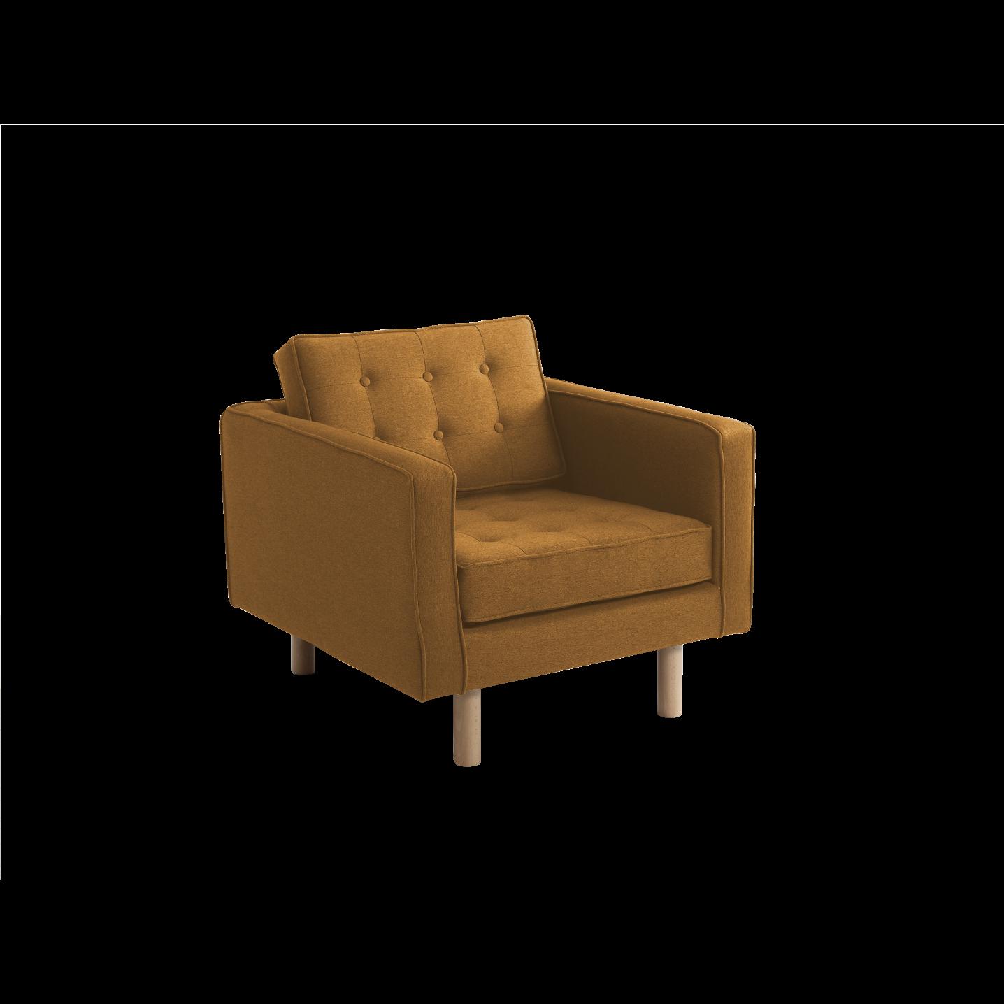 Armchair Topic Wood | Honey
