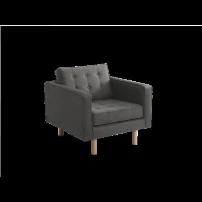 Sessel Topic Wood | Stahl