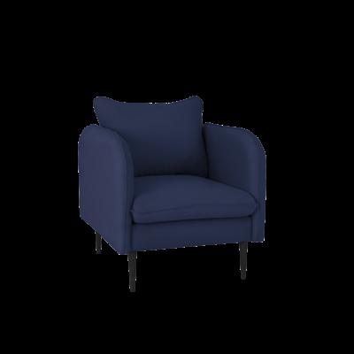 Sessel Posh | Blau