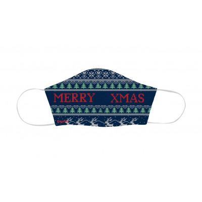 Kindergesichtsmaske zu Weihnachten | Merry Xmas