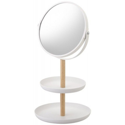 Schmuck-Etagere mit Spiegel Tosca | Weiß