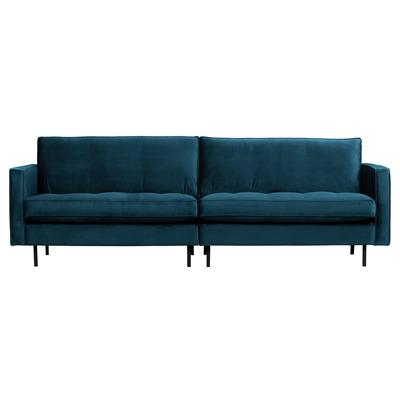 3 Seater Sofa Rodeo Classic Velvet | Blue