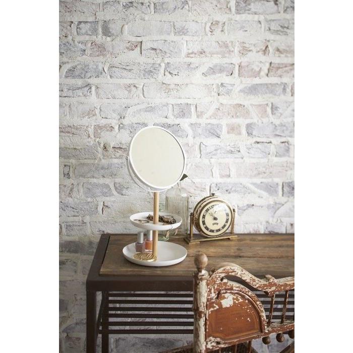 Accessoires Plateau Miroir Tosca | Blanc