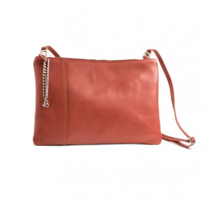 Shoulder Bag Adela | Rust Red