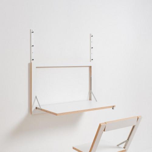 Hanging Slats for Fläpps Wall Desk | White