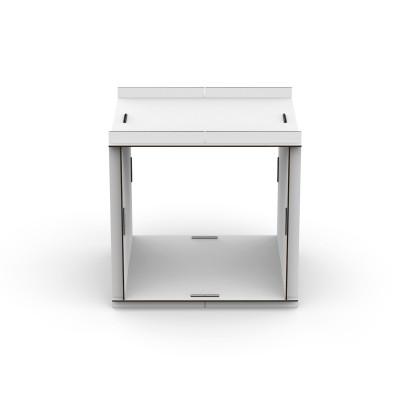 Doppelseitige offene Box Aerkit | Weiß