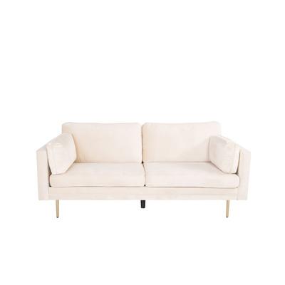 3 Seater Sofa Boom Velvet | Cream