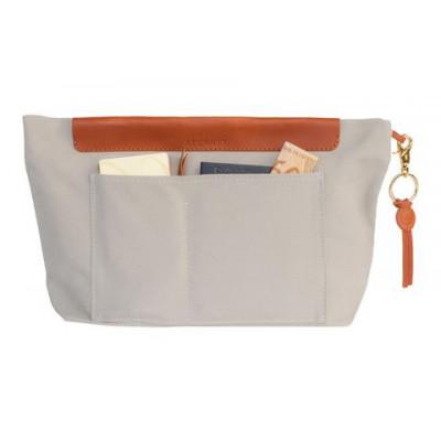 Handtasche Organizer   Beige