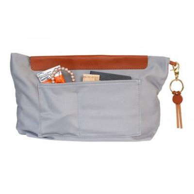 Handtasche Organizer   Grau