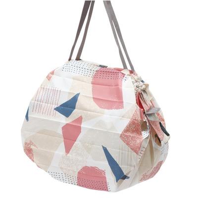 Compact Foldable Shopping Bag Scraps (Hagire) | M (5 kg/ 16 L)