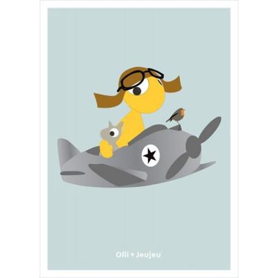 Flugzeug-Poster