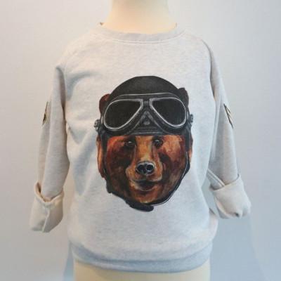 Sweater   Army Bear