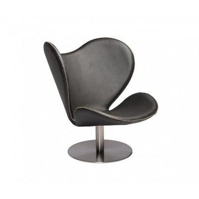 Butterfly Lounge Chair | Schwarzes Leder
