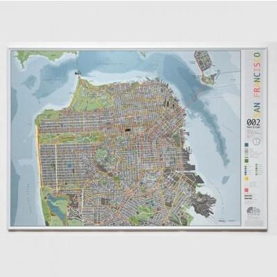 Stadtplan Wald/Orange | San Francisco