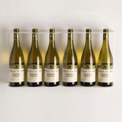 TEEwine Flaschenhalter Weiß | Set/2