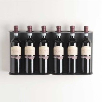 TEEwine Flaschenhalter Dunkelgrau | Set/2