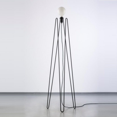 Model 2 Lampe | Schwarz