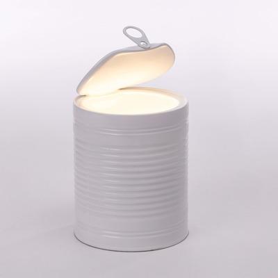 Kunstharz Led Lampe Tomatoglow | Weiß