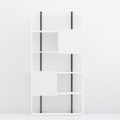 Bücherregal Calba I Weiß