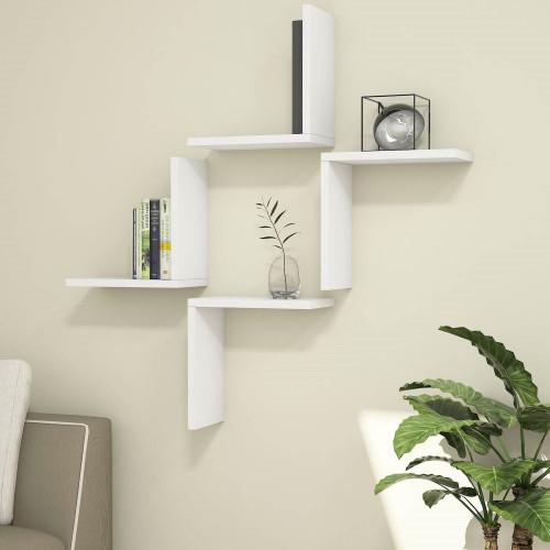 Shelf Alfa Set of 4 | White