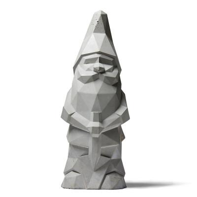 Concrete Garden Gnome | Grey
