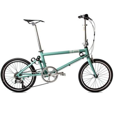 Foldable Bike Vintage Blue