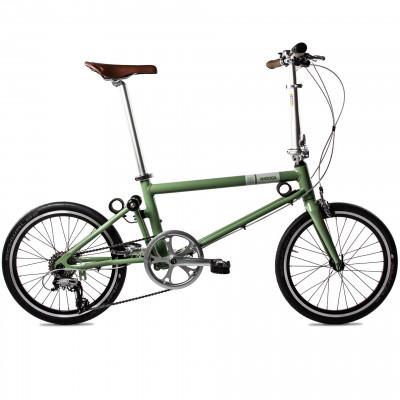 Foldable Bike Vintage Green