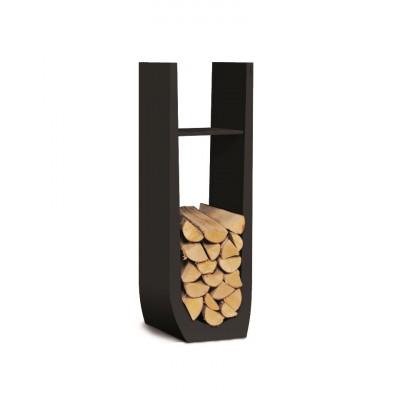 Holzständer Syli | Ruhiges Schwarz