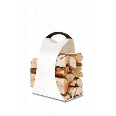 Log Carrier Hali Large | Weiß